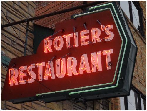 Rotier's Nashville TN Sign