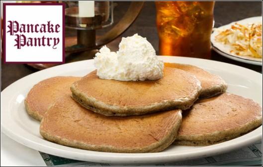 Pancake Pantry Nashville TN Stack of Pancakes